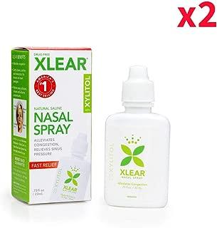Xlear - Xylitol Nasal Wash, Drug Free, .75 Oz/22ml (Pack of 2)