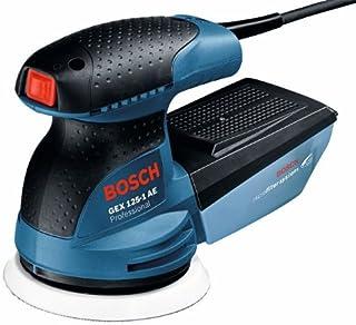Bosch Professional GEX 125-1 AE - Lijadora excéntrica (250 W, Microfiltro, Ø plato lijador 125mm, en caja)