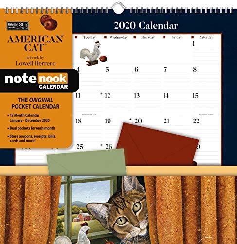 American Cat 2020 Pocket Note Nook