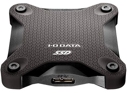 I-O DATA ポータブルSSD 1TB 耐衝撃 軽量 PS4/PS4 Pro/Mac対応 USB3.1(Gen1) SSPH-UT1K/E