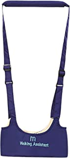 Leather Baby Walking Wings Baby Walking Assistant Learning to Walk Assistant Walking Safety Harness Waterproof (Color : Blue)