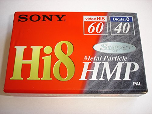 Sony - 8MM-Camcorder Kassette, Hi8-Format - Metal Particle, 60 Minuten