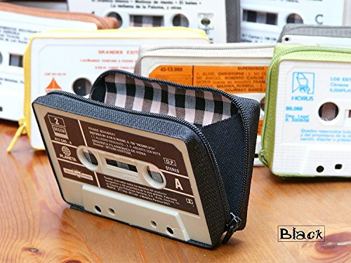 Wallets made by cassette tape