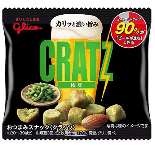 江崎グリコ クラッツミニタイプ&lt枝豆&gt 14g ×20箱