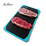 The Thawtful Defrosting Tray | A defrosting Meat Tray & thawing Tray Constructed from cast Aluminium for defrosting Meats up to 5X Faster | from Jean-Patrique