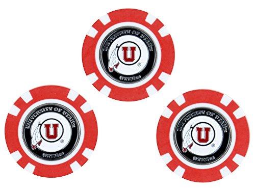 Team Golf - Poker Chips in Verschiedene Teamfarben., Größe Einheitsgröße