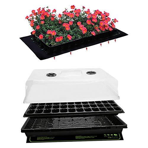 Apofly Las plántulas Heat Mat, Plántula cojín de calefacción, con calefacción para el Invierno propagador de semillero hidropónico germinación Mini Invernadero de Interior y al Aire Libre a pr