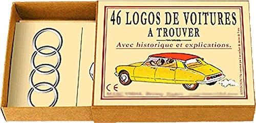 Marcvidal Marcvidal469 Lot de 46 Logos de Voiture Multicolore