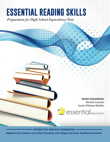 Essential Reading Skills Preparation For High School Equivalency Tests