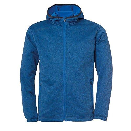 uhlsport Essential Fleece Veste Homme, azurbleu Melange, XL
