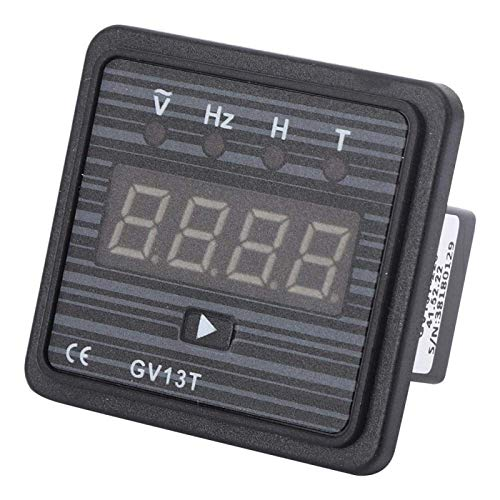 Voltímetro amperímetro con pantalla LCD, probador de corriente y voltaje 3 en 1 GV13T, voltímetro digital sin alimentación externa, generador GV13T de 220 V / 380 V(Sistema de 380V)