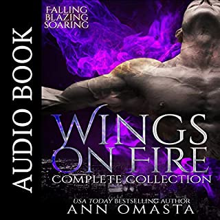 Wings on Fire ~ Complete Collection: Falling, Blazing, and Soaring audiobook cover art