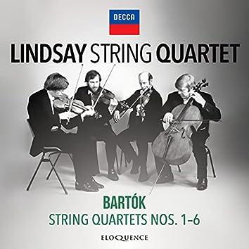 Bartok: String Quartets Nos. 1-6