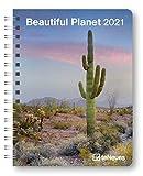Beautiful Planet - Buchkalender Deluxe 2021 - Kalenderbuch A5 - Taschenkalender - teNeues-Verlag - Taschenplaner mit Spiralbindung - 17 cm x 22 cm - Kunstkalender