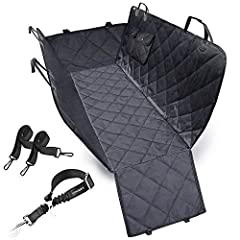 HAMMOCK WITH SIDE FLAPS - It is easier for your dog to get in or out of car. Also side flaps can protect your car door from scratch, hair. Available for most cars, trucks, automotives and SUVs 100%WATERPROOF & WEARPROOF: Constructed out of heavy-duty...