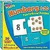 トレンド 英単語 パズル 1から20の数字 Trend Fun to Know Puzzles Numbers 1-20 T-36003