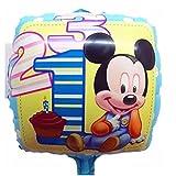 ベビーミッキー バルーン 風船 誕生日 お祝い パーティ イベント LZ-028f (ミッキー)