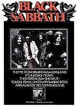 Best Black Sabbath - First Album - 1970 - Album Release Promo Poster Review