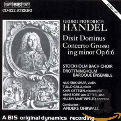 Dixit Dominus / Concerto Grosso in G