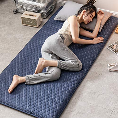 UYASDASFAFGS Japanische Futon Matratze,verdicken Boden Tatami Matte Schlafen Pad Folding Nicht-Slip Anti-bakterielle Sitzkissen Doppel-Einzel Camping Matratzen -d 100x200cm(39x79inch)