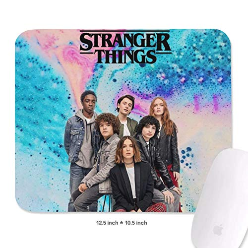 High End Game Cool Mouse Pad Stranger Things Poster Durable Suitable for Office Designer