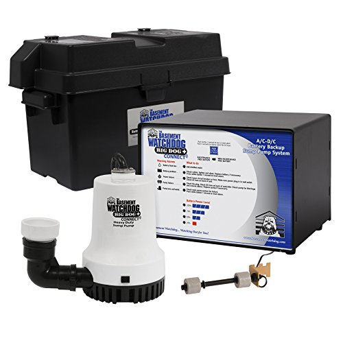 Glentronics Basement Watchdog Model No. BWD12-120 Big Dog CONNECT 3,500 GPH at 0 ft. and 2,200 GPH at 10 ft.