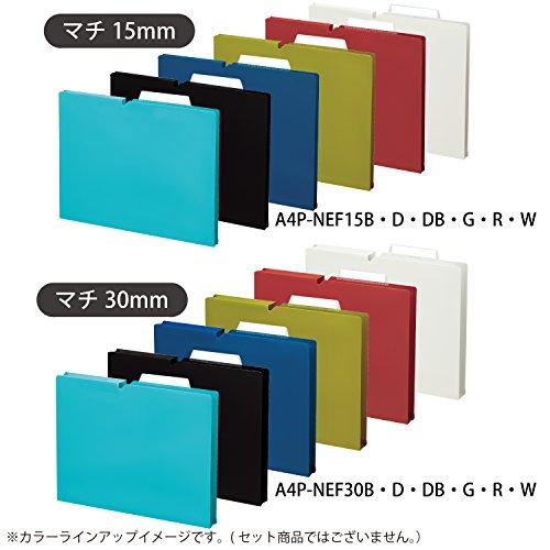 『コクヨ ファイル 個別フォルダー NEOS A4 30mm 3辺とじ 6色セット A4P-NEF30BX6C』の7枚目の画像