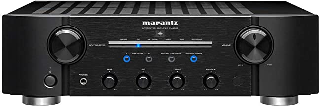 Marantz PM8006 Integrated Amplifier with New Electric Volume Control and Phono-EQ for Vinyl Playback | Connect Multiple Audio Sources | Flexible Configurations for More Power to Speakers