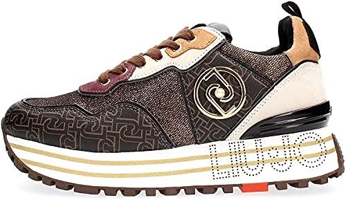 Liu Jo LJWMX, Zapatillas Mujer, marrón, 38 EU