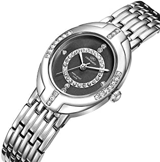 Louis Martin Dress Watch For Women Analog-Digital Stainless Steel - LMW0114