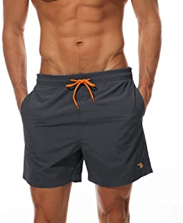 donhobo Men's Swim Trunks Board Shorts Beach Pants Swimming Waterproof Quick Dry Surfing Boardshorts