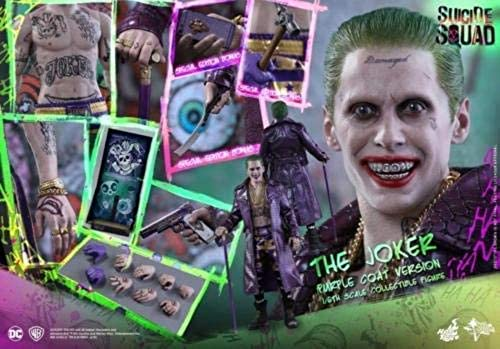 Hot Toys MMS382 - Suicide Squad - The Joker Deluxe Version 1 6 - Officiel