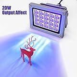 Kacsoo Resin 3D Drucker UV 405nm UV Harz Lichthärtelampe für SLA/DLP 3D-Druckerzubehör Verfestigen Lichtempfindliches Harz, Ausgangsleistung von 20 W