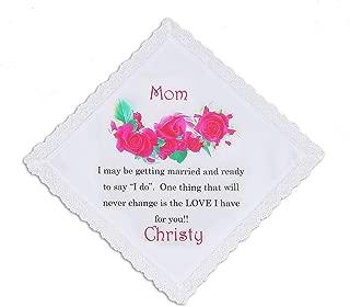 mother of the groom handkerchief wording