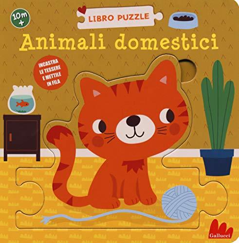 Animali domestici. Libro puzzle. Ediz. a colori