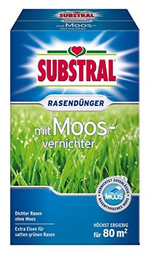 Substral Rasendünger mit Moosvernichter, 2,8kg für 80m²