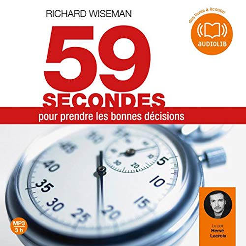 59 secondes pour prendre les bonnes décisions cover art