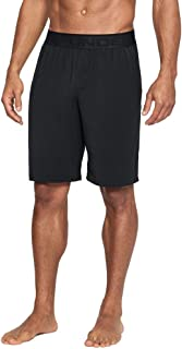 Under Armour Men's Athlete Ultra Comfort Recovery Shorts Sleepwear,Black /Carbon Heather, Large