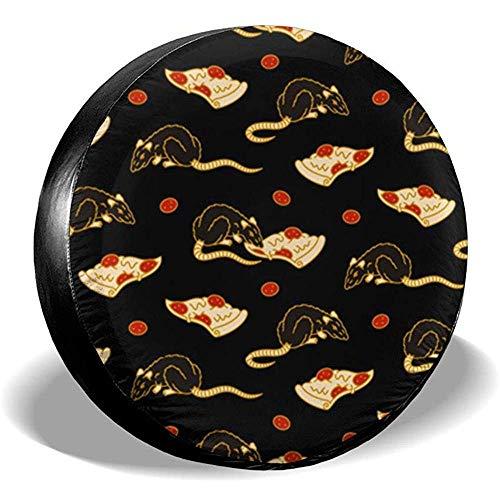 Dem Boswell Reserverad Reifen Abdeckung Pizza Rat Bonanza Trinkwasser Polyester Universal Wasserdicht Staubdicht Sonnencreme Universal Fit