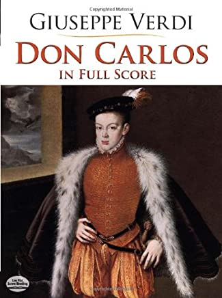Don Carlos in Full Score [Lingua inglese]
