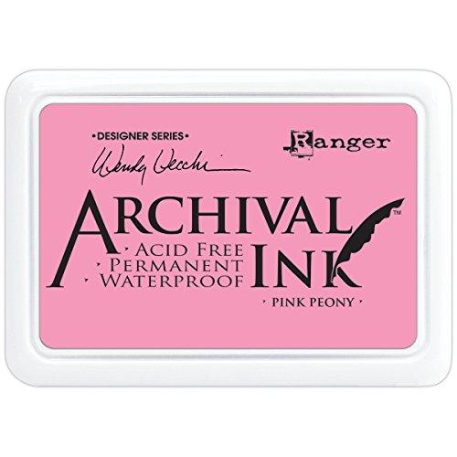 Ranger AID-45649 Wendy Vecchi Designer Series Archival Ink Pad, Pink Peony