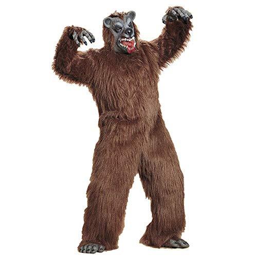 WIDMANN Sancto Disfraz de animal de la selva para hombre, talla M/L (5090O)