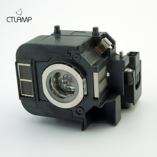 ELPLP50 Complete Replacement Lamp OEM Lamp with housing Original Bulb Inside Module For Epson 84+ Epson EB 824 Epson EB 824H Epson EB 825 Epson EB 825H Epson EB 826 Epson EB 826W Epson EB 826WH