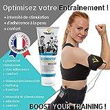 VeoFit- Gel Conductor 250mL X 1 Electrodos Electroestimulacion EMS y TENS, Gel de Contacto para Electroestimulador Muscular- Mejora el Contacto electrodos y Protege la Piel - Fabricado en Francia