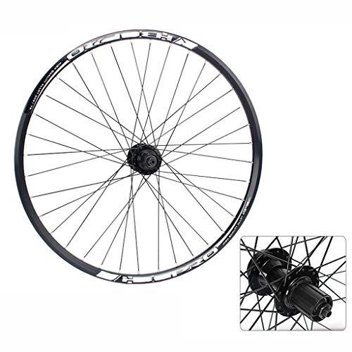 Mountain Bike Rear Wheel 26 27.5 Inch Double Wall Aluminum Alloy Disc Brake Hybrid/MTB for 7/8/9/10 Speed (Size : 27.5inch)