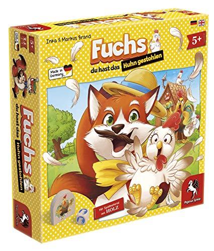 Pegasus Spiele 66015G - Fuchs du hast das Huhn gestohlen