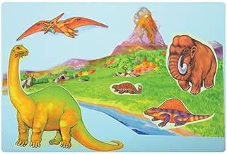 Little Folk Visuals Dinosaurs Precut Flannel/Felt Board Figures, 12 Pieces Set