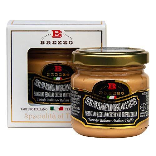 BREZZO トリュフ入りパルミジャーノ・レッジャーノチーズクリーム80g Parmesan CheeseD.O.P Truffle Cream