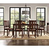 Better Homes and Gardens Bankston 7-Piece Dining Set, Mocha