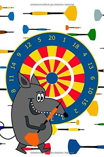 Notizbuch Spielbuch Dart a5 120 Seiten liniert: Schreibblock für Dartspiel Spielheft für Kinder Geschenkidee  für Dartspieler Teams Kinder zum Geburtstag und Herrentag